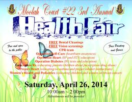 Moolah Court #22 4th Annual Community Health Fair