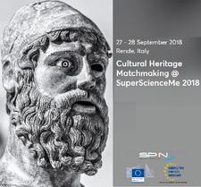 Programma seminari a CHM2018 - Cultural Heritage Matchmaking logo
