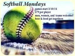 Softball Sunday