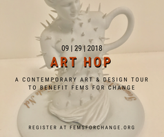 Art Hop to Benefit Fems for Change