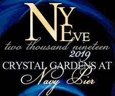 Crystal Gardens New Years Eve 2019 logo