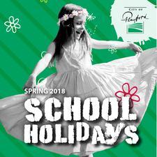 City of Playford School Holiday Activities  logo