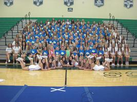 DJHS Elementary and Middle School Cheer Camp 2014