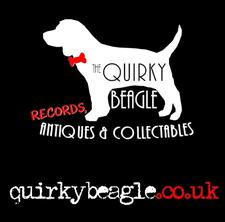 The Quirky Beagle Records, Antiques & Collectables logo