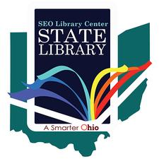 The Serving Every Ohioan Library Center logo