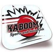Kaboom Sports and Social Club logo