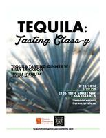 Tequila: Tasting Class-y