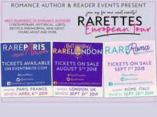 Romance Author & Reader Events RARE logo
