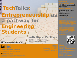 TechTalks: Entrepreneurship as a pathway for...