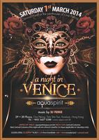 A NIGHT IN VENICE Carnival Party at the penthouse of...