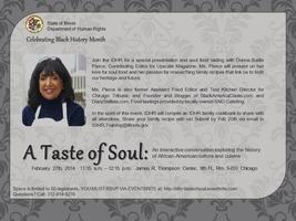 A Taste of Soul:Exploring the History of...