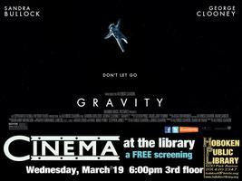 Monthly Film Screening: Gravity
