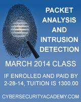 Packet Analysis and Intrusion Detection
