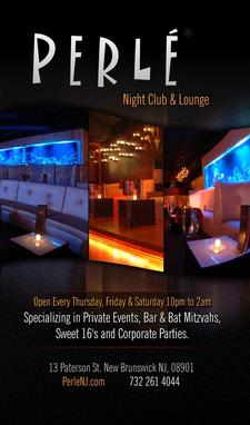 Perlé Night Club and Lounge logo