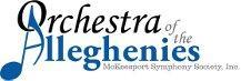 Orchestra of the Alleghenies (McKeesport Symphony Society Inc.) logo