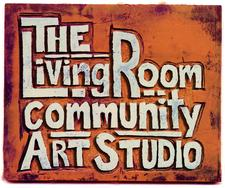 The LivingRoom Community Art Studio logo