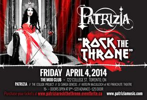 "PATRIZIA ""Rock The Throne"""