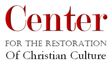 The Center for the Restoration of Christian Culture logo