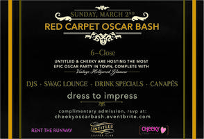 Cheeky Chicago's Red Carpet Oscar Bash!