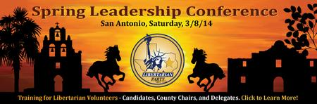LP Texas Spring Leadership Conference - San Antonio