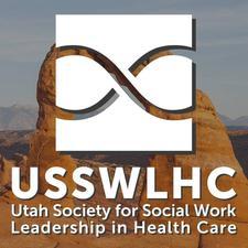 Utah Society for Social Work Leadership in Health Care logo