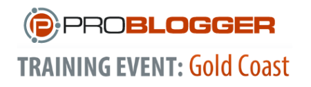 ProBlogger Training Event 2014