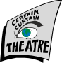 Claire Moore and John Woudberg Certain Curtain Theatre logo