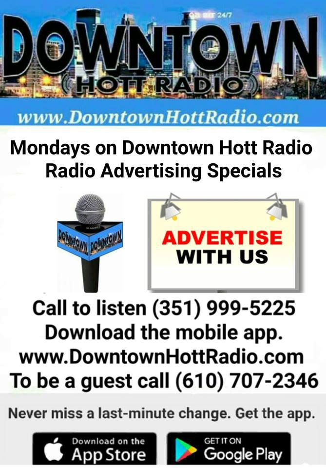Mondays on Downtown Hott Radio