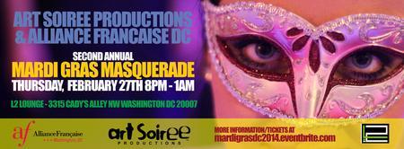 Mardi Gras Masquerade 2014