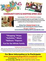 Community Expo & Shopping Spree - FREE Tickets