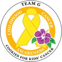 Team G's Cookies for Kids' Cancer Bake Sale