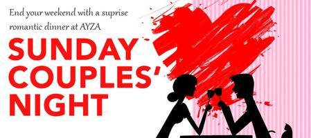 Romantic Sunday Couples' Night FREE Chocolates at Ayza...