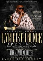 Hold Your Applause: Lyricist Lounge