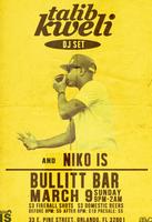 Talib Kweli DJ Set & NIKO IS Live