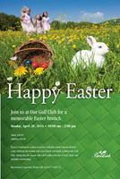 Brookside Golf Club Easter Brunch