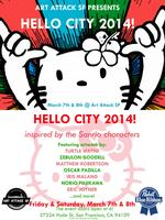 Art Attack & PBR Present HELLO CITY 2014!