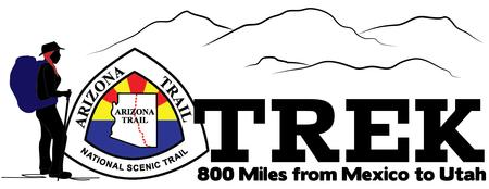 Arizona Trail Trek- Llama dayhike from the Pine...