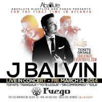 J BALVIN Live @ FUEGO | 1st Concert in Atlanta!