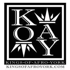 KINGS OF AFRO YORK  logo