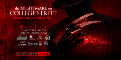 the nightmare on college street halloween bar crawl tickets wed oct 31 2018 at 600 pm eventbrite