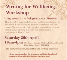 Writing for Wellbeing Workshop