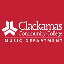 Clackamas Community College Music Dept logo