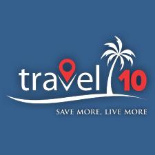 Travel 10 - Save and Earn on Travel logo