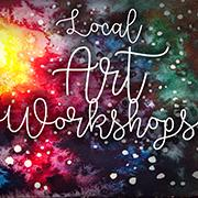 Local Art Workshops logo
