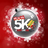 Toys for Tots 5K and Candy Cane Run with Santa