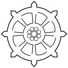 Dhammakāmi Buddhist Society Singapore logo