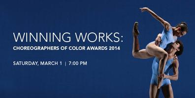 Winning Works: Choreographers of Color 2014