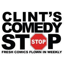 Clint's Comedy Stop logo