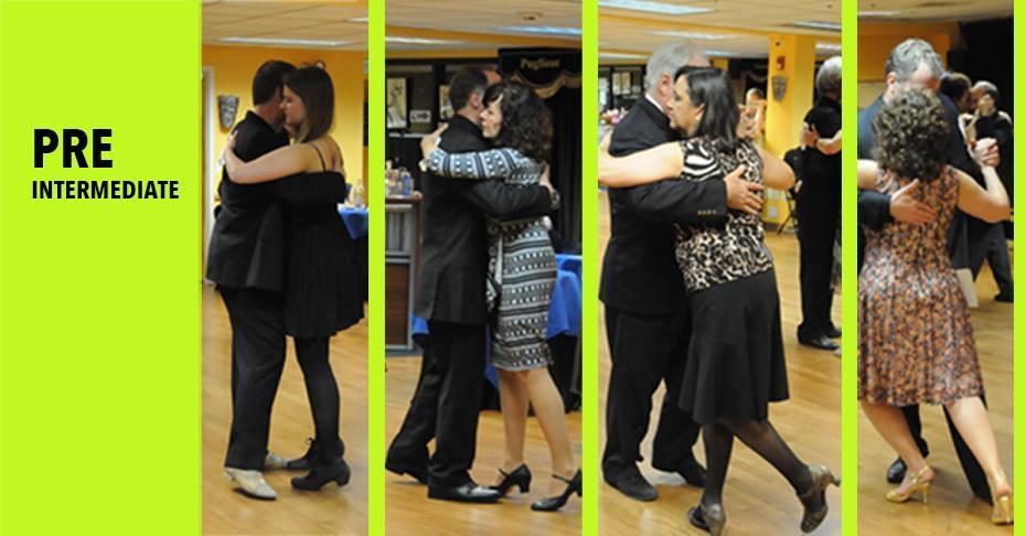 Pre-Intermediate Argentine Tango progressive 8 weeks course