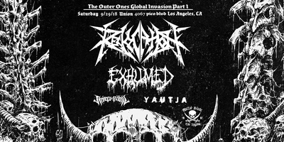 Revocation w/ Exhumed, Rivers of Nihil, Yautja